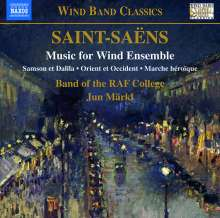Camille Saint-Saens (1835-1921): Kammermusik für Bläser, CD