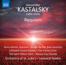 Alexander Kastalsky (1856-1926): Requiem for Fallen Brothers (1914-1917), CD