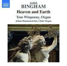 """Judith Bingham (geb. 1952): Orgelwerke """"Heaven and Earth"""", CD"""