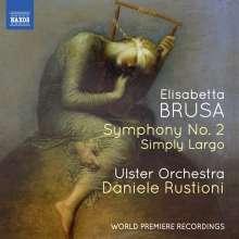 Elisabetta Brusa (geb. 1954): Symphonie Nr.2, CD