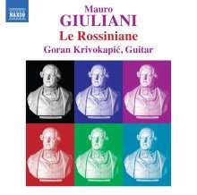 Mauro Giuliani (1781-1829): Le Rossiniane Nr.1-6, CD