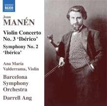 """Joan Manen (1883-1971): Symphonie Nr.2 """"Iberica"""", 2 CDs"""