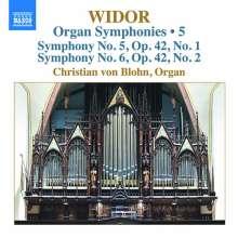 Charles-Marie Widor (1844-1937): Die Orgelsymphonien Vol.5, CD