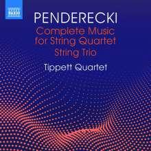 Krzysztof Penderecki (1933-2020): Streichquartette Nr.1-4, CD