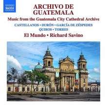 Archivo de Guatemala - Musik aus dem Guatemala City Cathedral Archive, CD