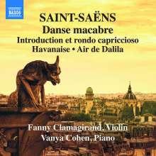 Camille Saint-Saens (1835-1921): Werke für Violine & Klavier Vol.3, CD