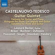 Mario Castelnuovo-Tedesco (1895-1968): Kammermusik mit Gitarre, CD