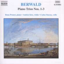 Franz Berwald (1796-1868): Klaviertrios Nr.1-3, CD