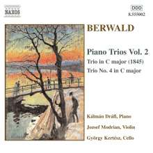 Franz Berwald (1796-1868): Klaviertrio Nr.4, CD