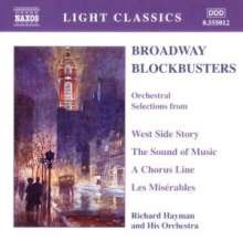 Richard Hayman Orchestra - Broadway Blockbusters, CD