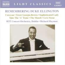 Duke Ellington (1899-1974): Remembering Duke Ellington - Orchesterstücke, CD