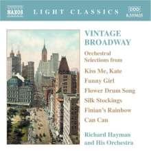 Vintage Broadway, CD