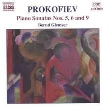 Serge Prokofieff (1891-1953): Klaviersonaten Nr.5,6,9, CD