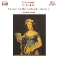 Padre Antonio Soler (1729-1783): Sämtliche Cembalosonaten Vol.9, CD