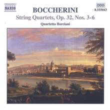 Luigi Boccherini (1743-1805): Streichquartette op.32 Nr.3-6, CD