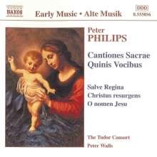 Peter Philips (1561-1628): Cantiones Sacrae Quinis Vocibus (1612), CD