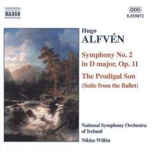 Hugo Alfven (1872-1960): Symphonie Nr.2, CD