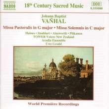 Johann Baptist (Jan Krtitel) Vanhal (1739-1813): Missa Solemnis C-Dur, CD