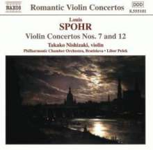 Louis Spohr (1784-1859): Violinkonzerte Nr.7 & 12, CD