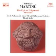 Bohuslav Martinu (1890-1959): Gilgamesch (Oratorium), CD