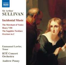 Arthur Sullivan (1842-1900): Bühnenmusik, CD