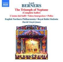 Gerald Hugh Tyrwhitt-Wilson Lord Berners (1883-1950): The Triumph of Neptune-Ballettmusik, CD