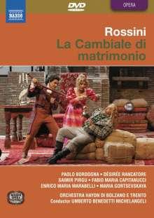 Gioacchino Rossini (1792-1868): La Cambiale di Matrimonio, DVD
