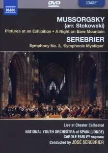 Modest Mussorgsky (1839-1881): Bilder einer Ausstellung (Orchesterfassung/arr.Stokowski), DVD