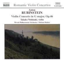 Anton Rubinstein (1829-1894): Violinkonzert G-dur op.46, CD