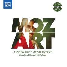 Wolfgang Amadeus Mozart (1756-1791): Mozart - Ausgewählte Meisterwerke, 5 CDs