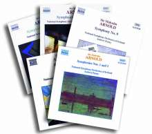 Malcolm Arnold (1921-2006): Symphonien Nr.1-9 (Exklusiv für jpc), 5 CDs