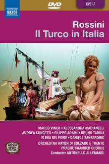 Gioacchino Rossini (1792-1868): Il Turco In Italia, DVD