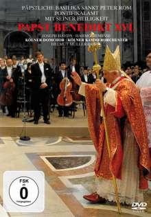 Pontifikalamt mit Papst Benedikt XVI (Pfingstsonntag 2009), DVD