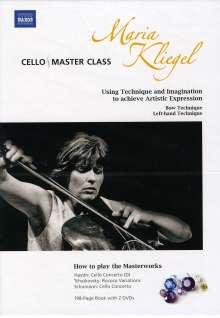 Maria Kliegel - Cello Masterclass, 2 DVDs