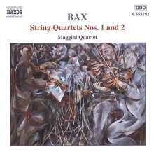 Arnold Bax (1883-1953): Streichquartette Nr.1 & 2, CD