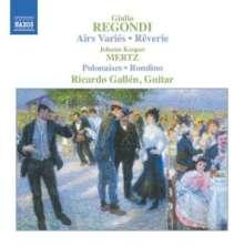 Giulio Regondi (1822-1872): Gitarrenwerke, CD