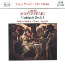 Claudio Monteverdi (1567-1643): Madrigali Libro 1, CD