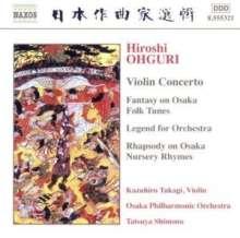 Hiroshi Ohguri (1918-1982): Violinkonzert, CD