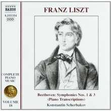 Franz Liszt (1811-1886): Klavierwerke Vol.18, CD
