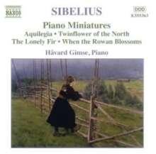 Jean Sibelius (1865-1957): Klavierwerke Vol.4, CD