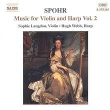 Louis Spohr (1784-1859): Werke für Harfe & Violine Vol.2, CD