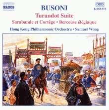 Ferruccio Busoni (1866-1924): Turandot-Suite op.41, CD