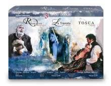 3 Opernfilme, 4 DVDs