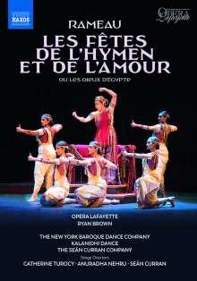 Jean Philippe Rameau (1683-1764): Les Fetes de l'Hymen et de l'Amour, DVD