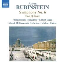 Anton Rubinstein (1829-1894): Symphonie Nr.6, CD