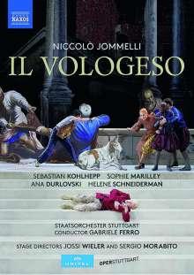 Niccolo Jommelli (1714-1774): Il Vologeso, 2 DVDs