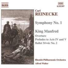 Carl Heinrich Reinecke (1824-1910): Symphonie Nr.1 A-dur op.79, CD