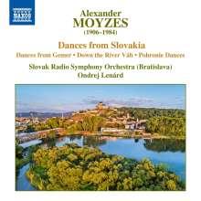 Alexander Moyzes (1906-1984): Slowakische Tänze, CD