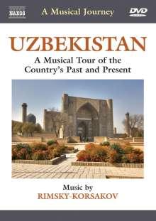 A Musical Journey - Uzbekistan, DVD