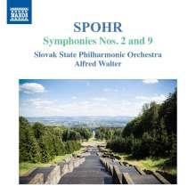 Louis Spohr (1784-1859): Symphonien Nr.2 & 9, CD